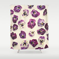 Violas  Shower Curtain