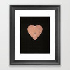 Oups Framed Art Print
