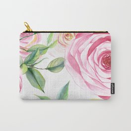 Roses Water Collage Carry-All Pouch