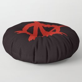 Anarchy Floor Pillow