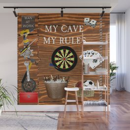 Man Cave Wall Mural