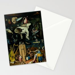 "Hieronymus Bosch ""The Garden of Earthly Delights"" - Hell Stationery Cards"