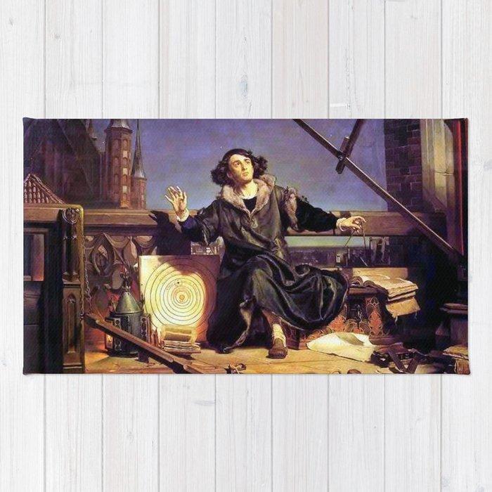 Matejko-Astronomer Copernicus-Conversation with God Rug