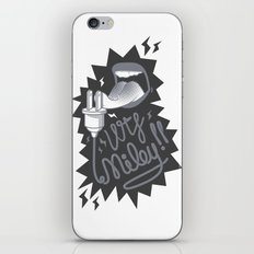 Enough Miley iPhone & iPod Skin
