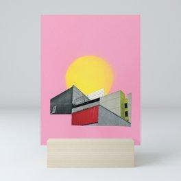 Neon Roof Top Mini Art Print