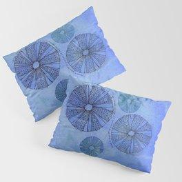 Blue Sea Urchin Pillow Sham
