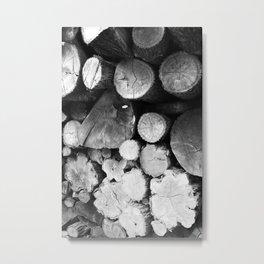 Lumber Metal Print