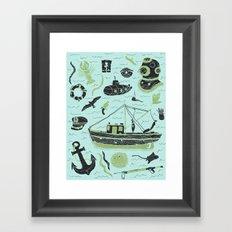 Aquatic Adventures Framed Art Print
