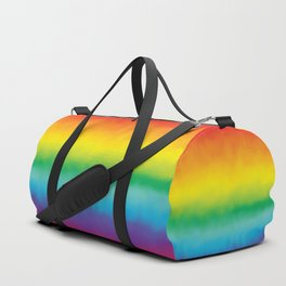 Watercolor Rainbow Duffle Bag