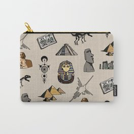 Dark Archeo pattern Carry-All Pouch