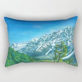 Himalaya mountains Rectangular Pillow