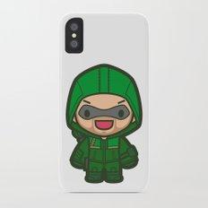 Green Archer iPhone X Slim Case