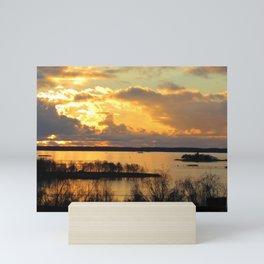 Finnihs Sunset Mini Art Print