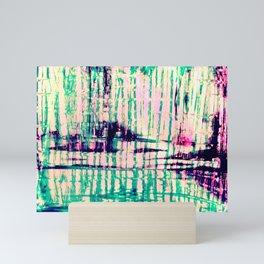 Bamboo Shoots Edit Mini Art Print