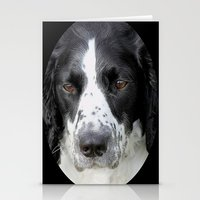 border collie Stationery Cards featuring Border Collie by Doug McRae