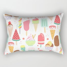 Ice Dream Rectangular Pillow