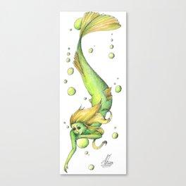 Mermaid 17 Canvas Print