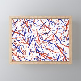 Twigs Framed Mini Art Print