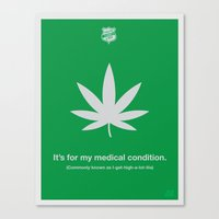 medical Canvas Prints featuring Medical Condition by Justin Barber