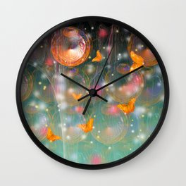 Entrance to the faerie worlds Wall Clock