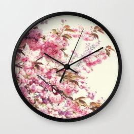 Cherry blossoms world Wall Clock