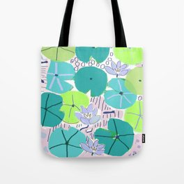 The Lily Pond 2 Tote Bag