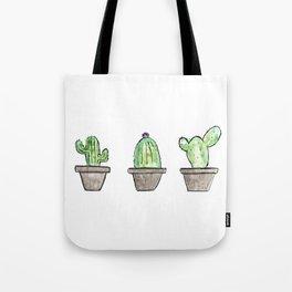 3 types of cactus Tote Bag