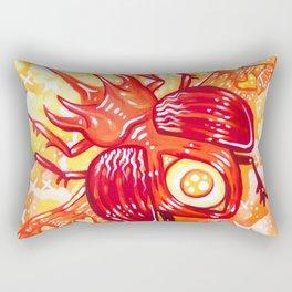 Autumn Beetle Rectangular Pillow