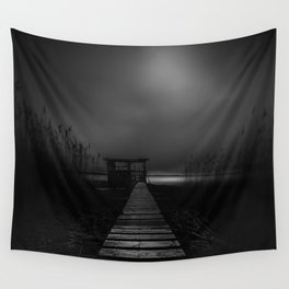 On the wrong side of the lake 4 Wall Tapestry