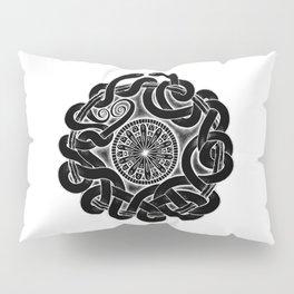 Tangled Serpents at Midnight Pillow Sham