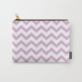 ORCHID CHEVRON Carry-All Pouch