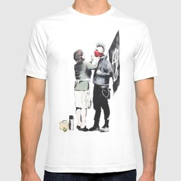Banksy, Punk with mother T-shirt