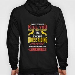 Horseback Riding Training - Equestrian Horse Gift Hoody
