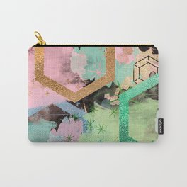 fun with collage and colors Carry-All Pouch