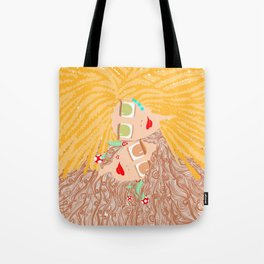 Let your hair out Tote Bag