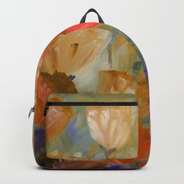 Breaking Dawn in Shades of Gold, Peach and Violet Backpack