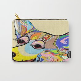 Corgi Close Up Carry-All Pouch