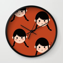 Lola Red Wall Clock