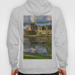 Caerphilly Castle Moat Hoody
