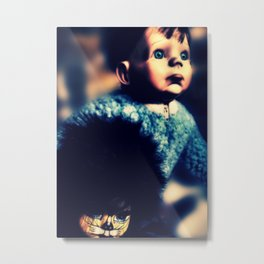 Robert and Siouxie Metal Print