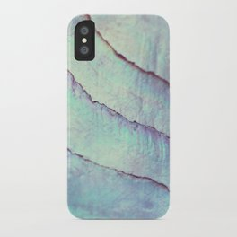 IRIDISCENT SEASHELL MINT by Monika Strigel iPhone Case
