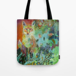 i am the forest path Tote Bag