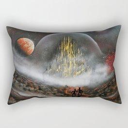 The Golden City Rectangular Pillow