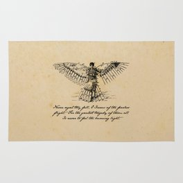 Oscar Wilde - Icarus Rug