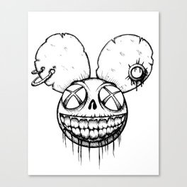 Undead mouse Canvas Print