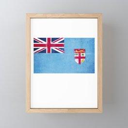 Fiji Flag design | Fijian design Framed Mini Art Print