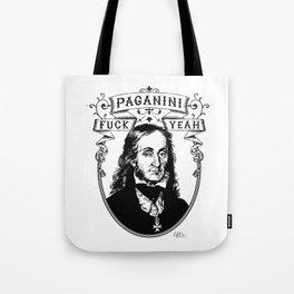 Fuck Yeah Paganini Tote Bag