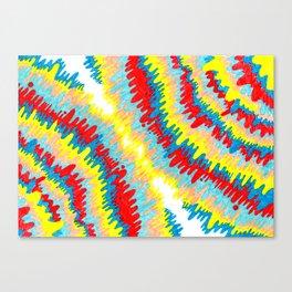 radioactive vomitz PRINT Canvas Print