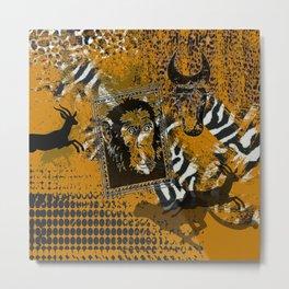 Safari sketch Metal Print