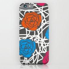 MULTI ROSE SQUIGGLE iPhone 6s Slim Case